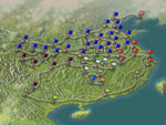 Romance of the Three Kingdoms IV Map of China
