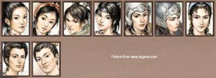 Romance of the Three Kingdoms 7 - female officers screen 2.